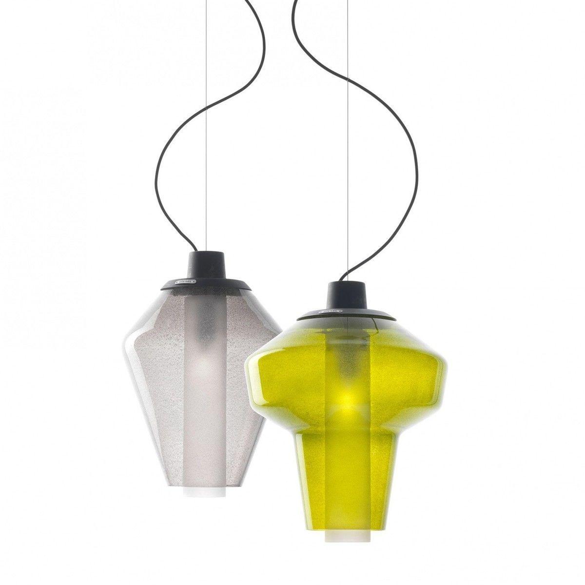 metal glass 1 suspension lamp diesel. Black Bedroom Furniture Sets. Home Design Ideas