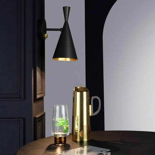 Tom Dixon - Beat Wall Black Wandleuchte