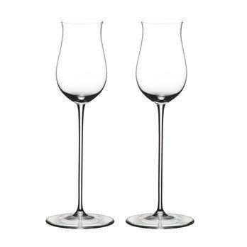 Riedel - Vinum Cognac Hennessy Glas 2er Set - transparent/H 18,4cm, 170ccm