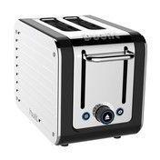 Dualit - Architect Toaster - edelstahl/schwarz/2 Schlitz