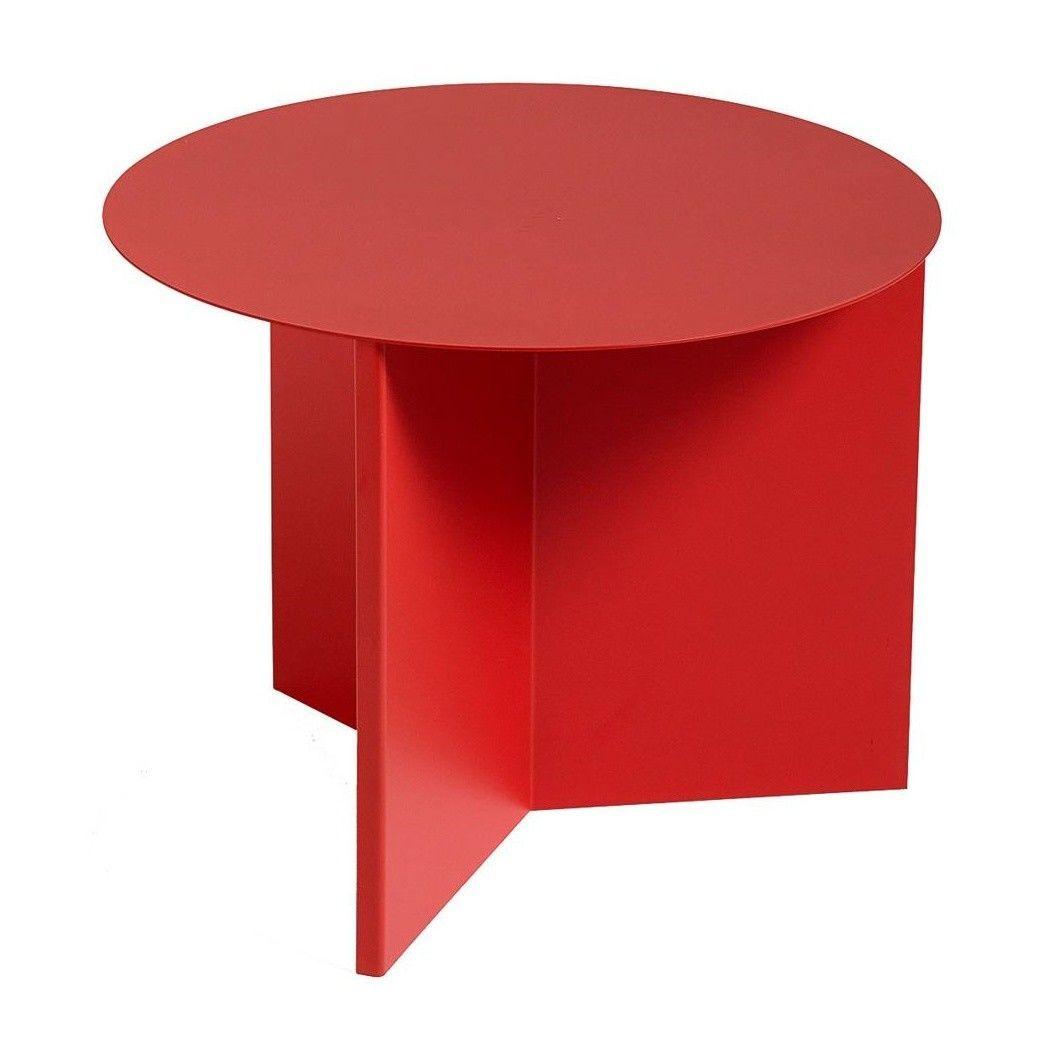 slit table round beistelltisch hay. Black Bedroom Furniture Sets. Home Design Ideas