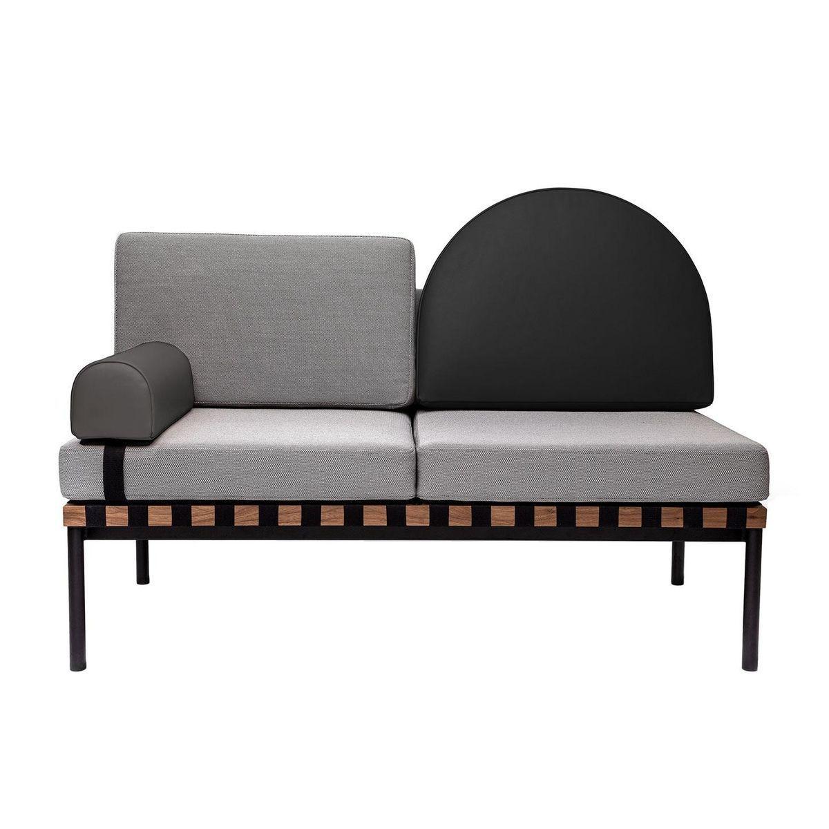 grid 2 zits sofa petite friture. Black Bedroom Furniture Sets. Home Design Ideas