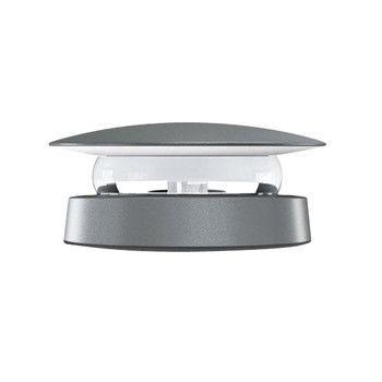 Iguzzini - Trick Radial LED 360° Wand-/Deckenleuchte - grau/1400 lm - 3000K/Ø16cm /inkl. Konverter
