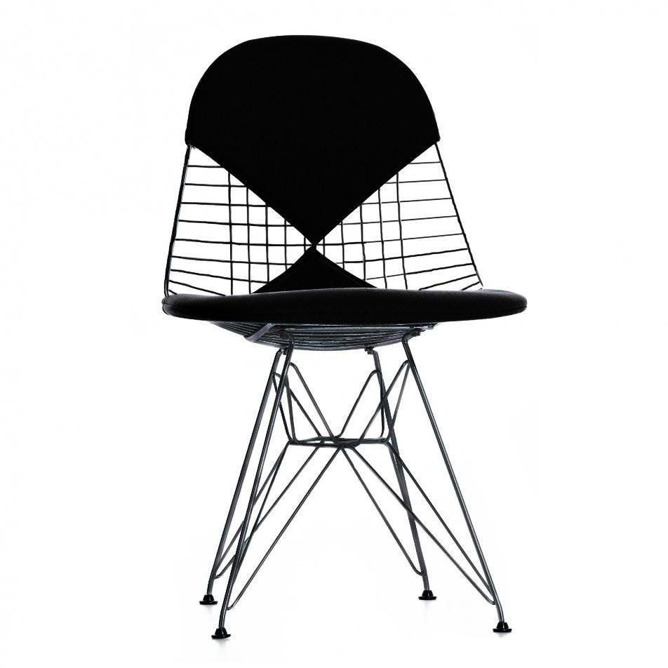 vitra eames wire chair dkr 2 h43cm ambientedirect