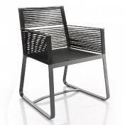 Kettal: Brands - Kettal - Landscape Dining Armchair / Garden Chair