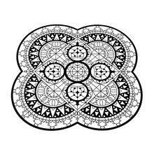Driade - Italic Lace Petal Placemat Trivet
