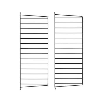 String - String System Wandleiter 75x30cm - schwarz/Wandmontage/75x30cm/2er Set