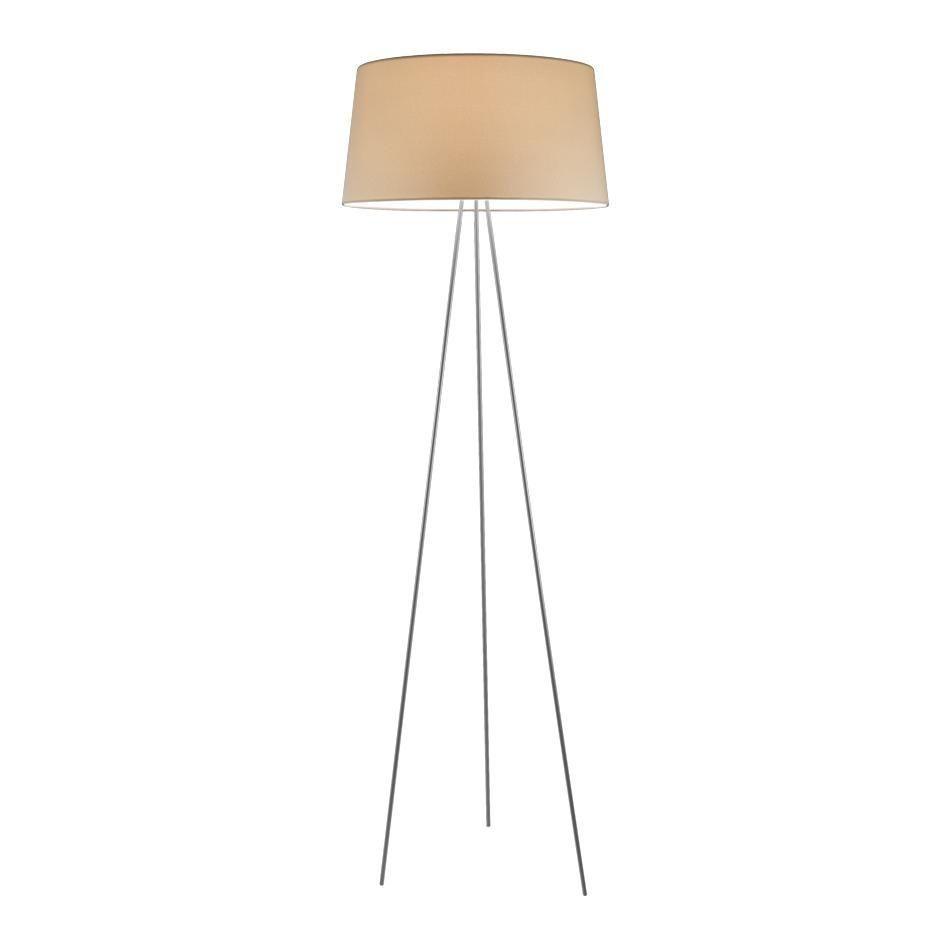 kundalini tripod floor lamp ecrframe metalmatth 175cm