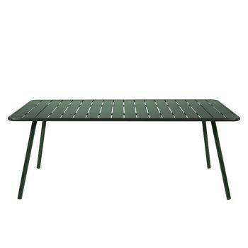 Fermob - Luxembourg Gartentisch - zederngrün/100x207cm