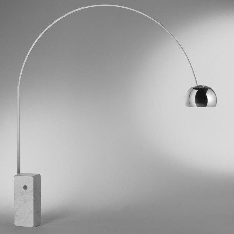 arco floor lamp flos. Black Bedroom Furniture Sets. Home Design Ideas