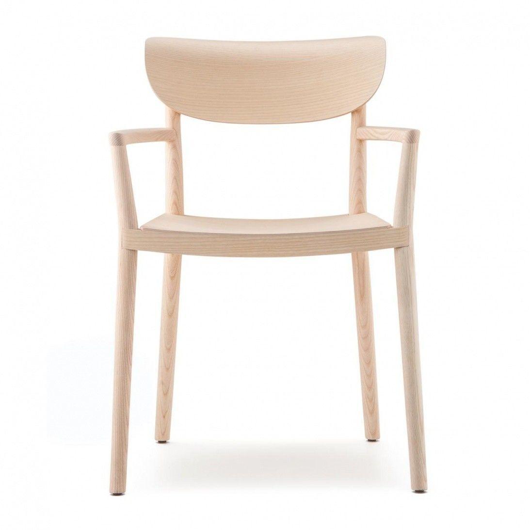Tivoli 2805 chaise avec accoudoirs pedrali for Chaise pedrali