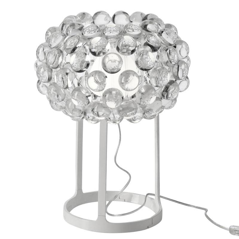 Foscarini caboche table lamp ambientedirect foscarini caboche table lamp transparentmethacrylatewith aloadofball Images