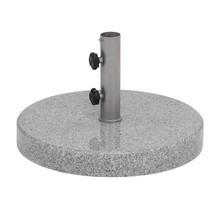 Weishäupl - Schirmständer Granit 63kg mit Hülse Ø5.4cm