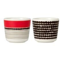 Marimekko - Marimekko Oiva Egg Cup Set Of 2
