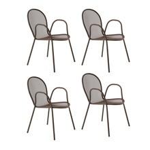 emu - Ronda Garten-Armlehnstuhl 4er Set