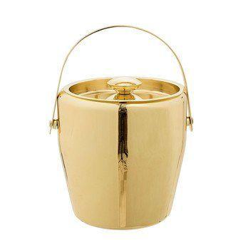 Bloomingville - Golden Times Eiskübel gold - gold/beschichtet/Ø19 x H20cm