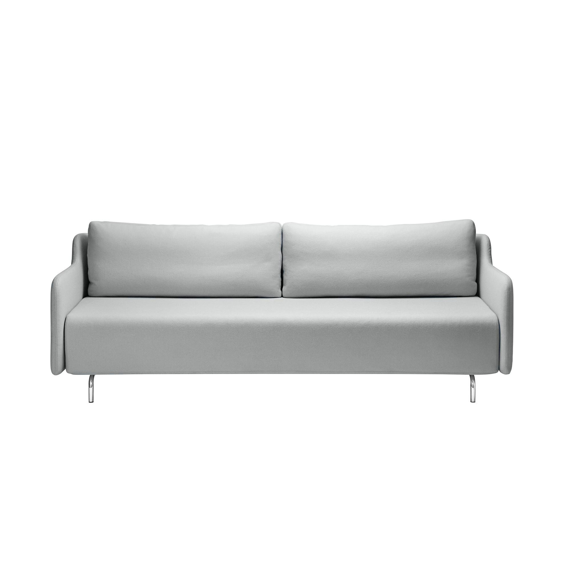 Softline Venus Sofa Bed Light Grey Fabric