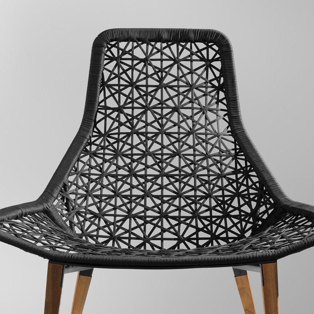 Maia relax armchair garden chair kettal for Kettal maia chair