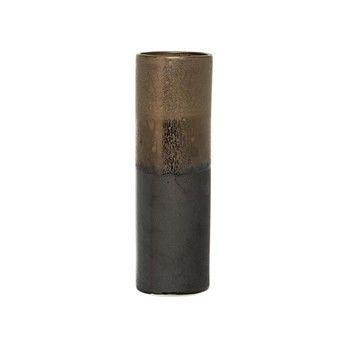 Bloomingville - Bloomingville Vase  - braun/Ø9xH29 cm