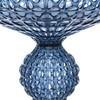 Kartell - Kabuki LED Stehleuchte H:165cm - eisblau/transparent/mit Dimmer