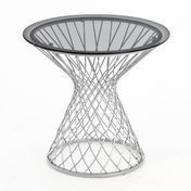 emu - Heaven Side Table Ø45 - aluminium/lacquered/Top Plate smokey/H: 49cm