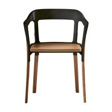 Magis - Steelwood Chair - Silla con reposabrazos
