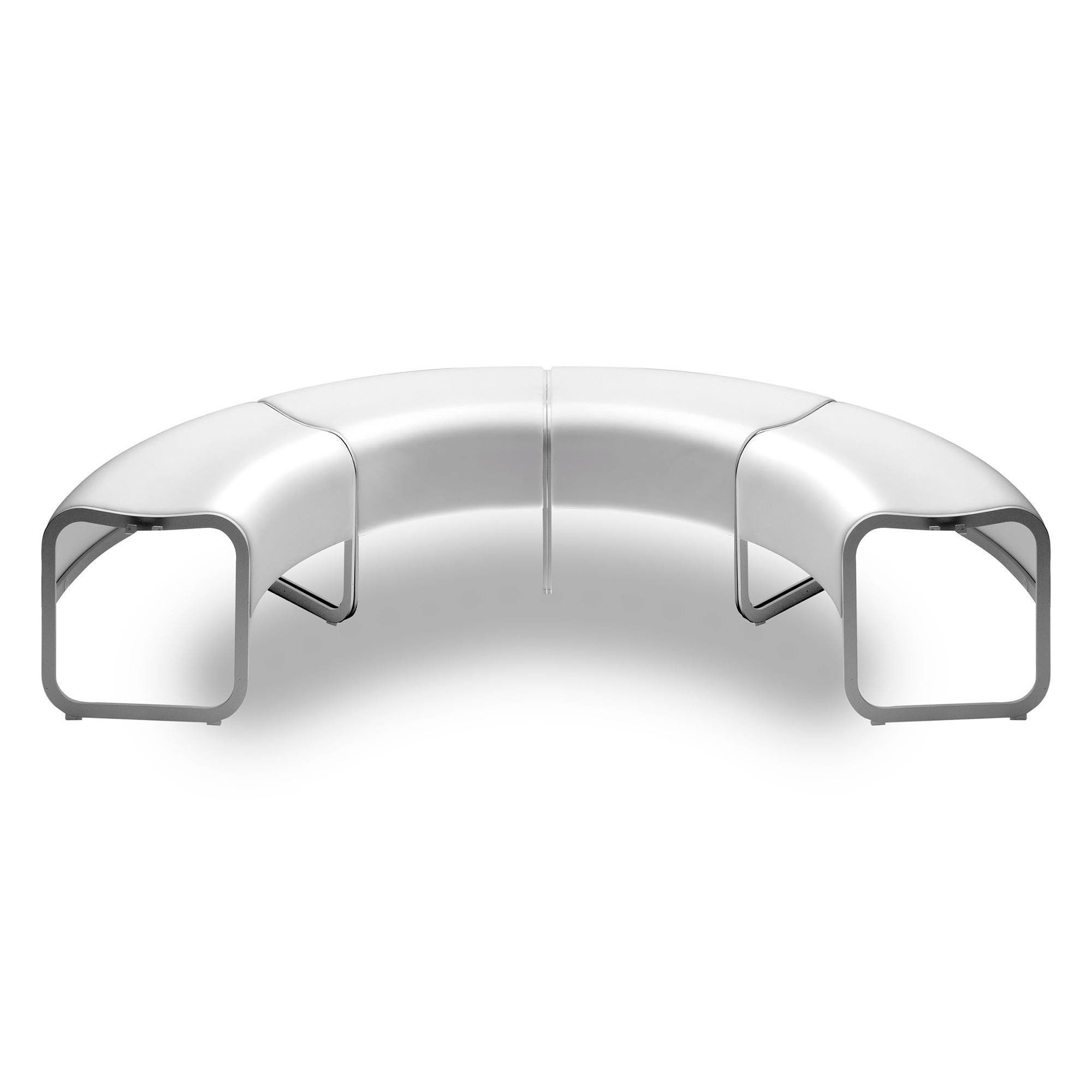 la palma Za Eckbank (°45) stapelbar Gestell aluminium   AmbienteDirect