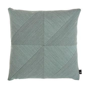 HAY - Puzzle Cushion Pure Sofakissen 50x50cm - mint/Stoff Steelcut Trio 815