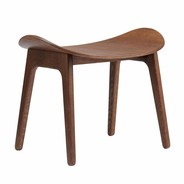 NORR 11 - Elephant Stool Dark Stained Oak Base