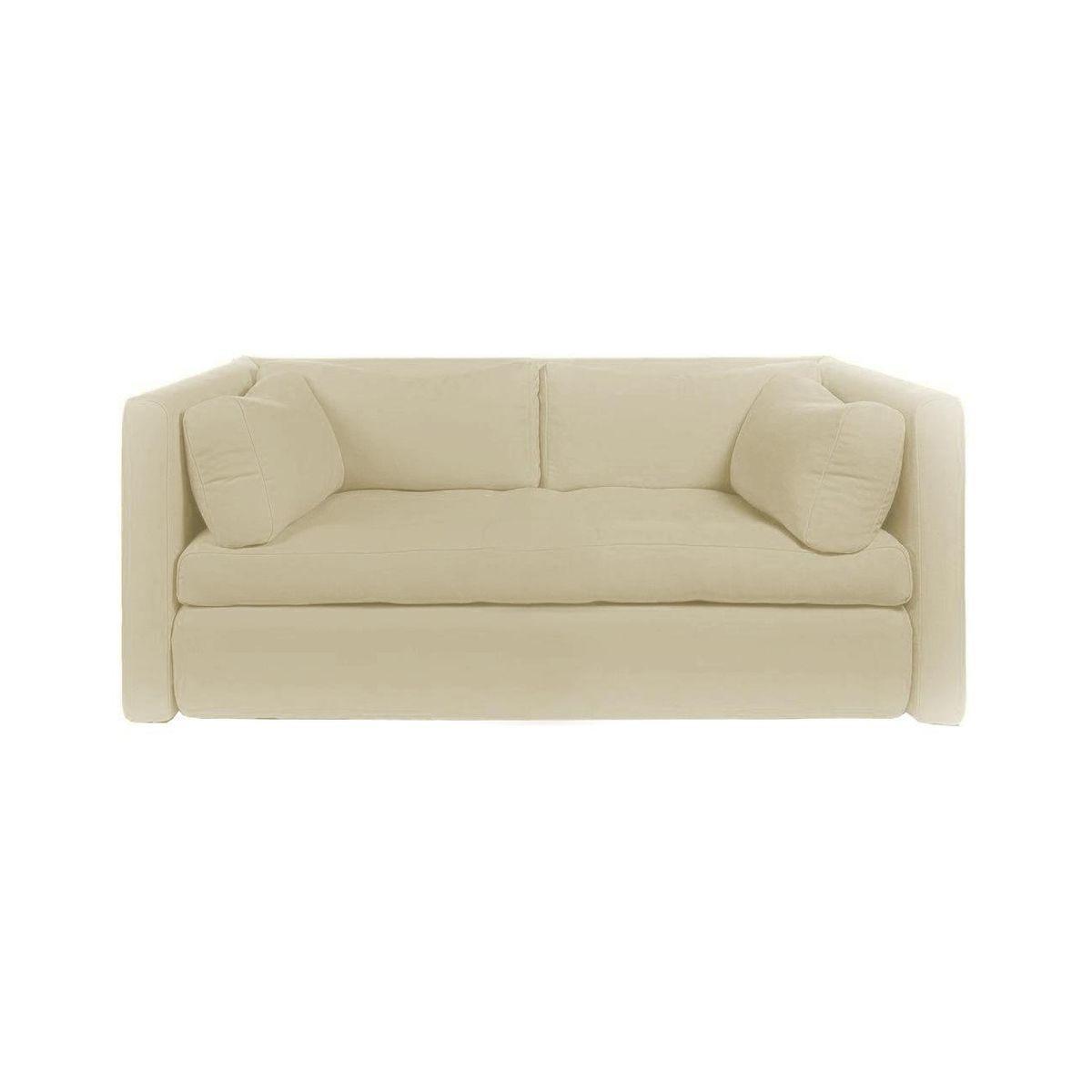 Ledersofa creme  Hackney 2-Seater Sofa | HAY | AmbienteDirect.com