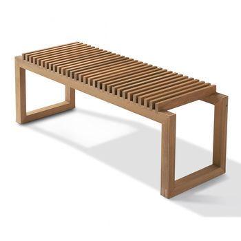 Skagerak - Cutter Bank   - teak/Größe 1/120x40cm