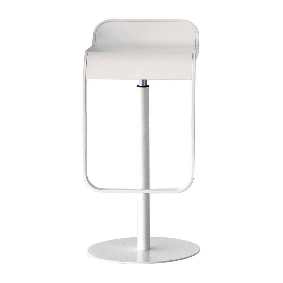lem 66-79 bar stool frame white | la palma | ambientedirect, Moderne