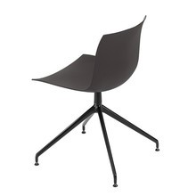 Arper - Arper Catifa 53 2054 Swivel Chair Frame Black