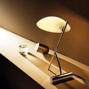 deMajo - Girasole L Tischlampe  - amber/satiniert