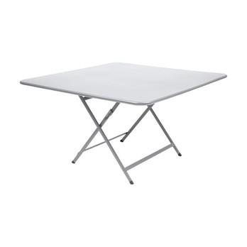 Fermob - Caractère Gartentisch klappbar 128x128cm - baumwoll weiß