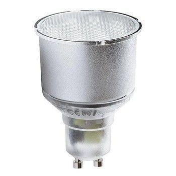QualityLight - FLUO Gu10 Spot dimmbar 11W - transparent/Glas/Energieeffizienzklasse b/Gewichteter Energieverbrauch 11 kW/1000 h