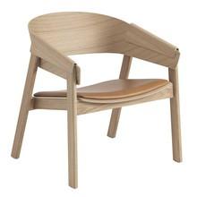 Muuto - Cover Lounge Stuhl Leder