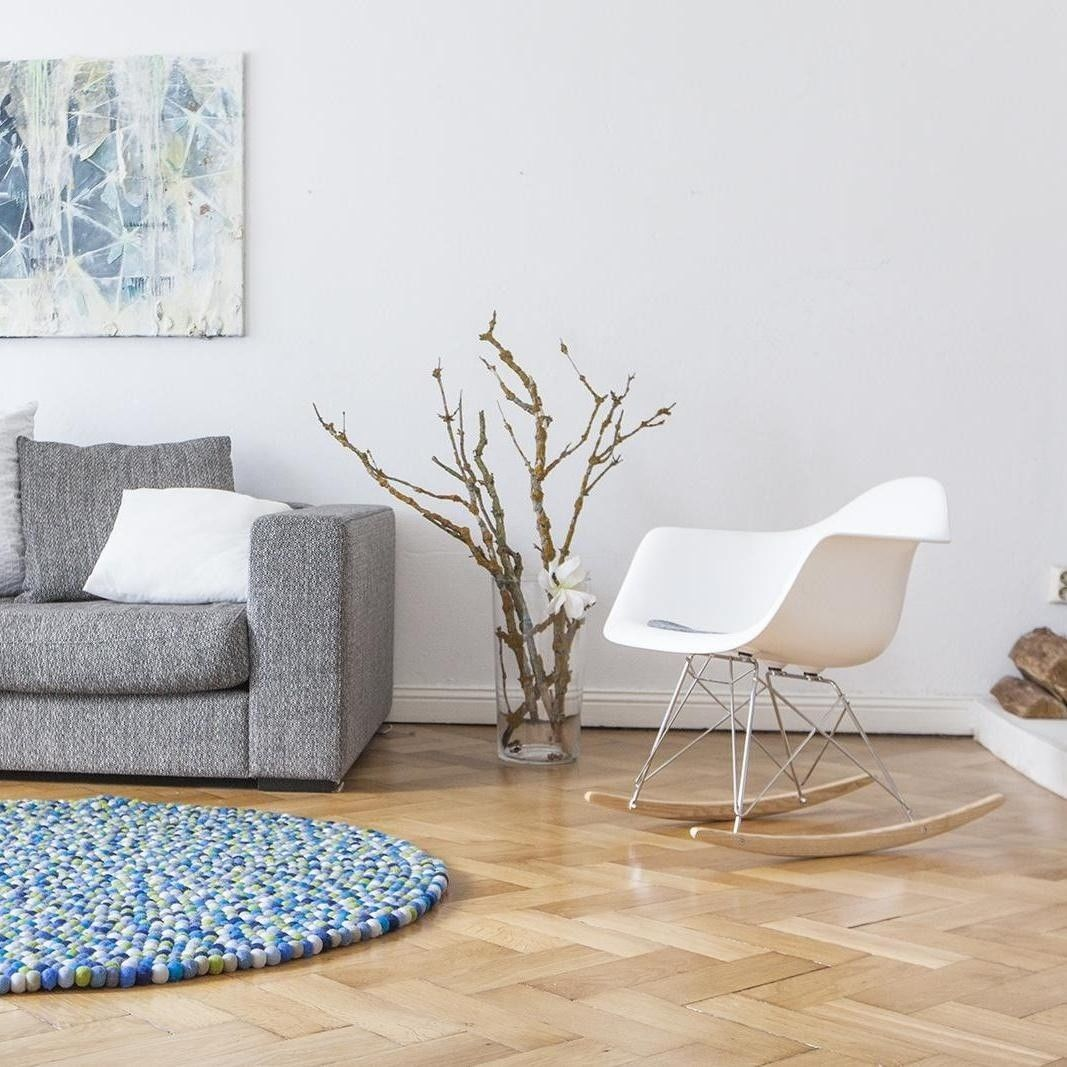 aktionsset rar schaukelstuhl fell vitra. Black Bedroom Furniture Sets. Home Design Ideas