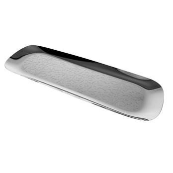 Alessi - Dressed Tablett - edelstahl/glänzend poliert