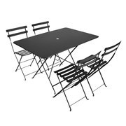 Fermob - Bistro Garden Set 4 Chairs