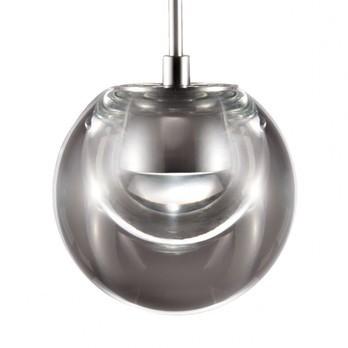 Kundalini - Dew 1 LED Pendelleuchte - transparent/2700K/320lm/CRI>80/H 19.9cm/Ø 11cm