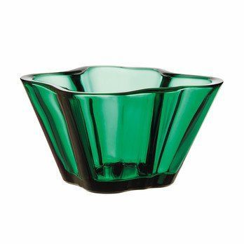 iittala - Alvar Aalto Schale 75mm - smaragd/Glas