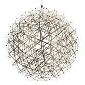 Moooi - Raimond Suspension Lamp - stainless steel/ 492 LEDs/Size 4/Ø127cm