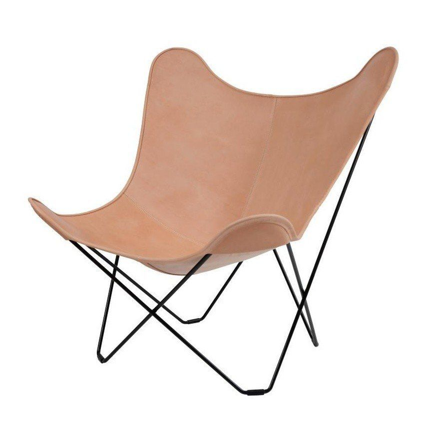 Leather Mariposa Butterfly Chair Sessel | cuero | AmbienteDirect.com