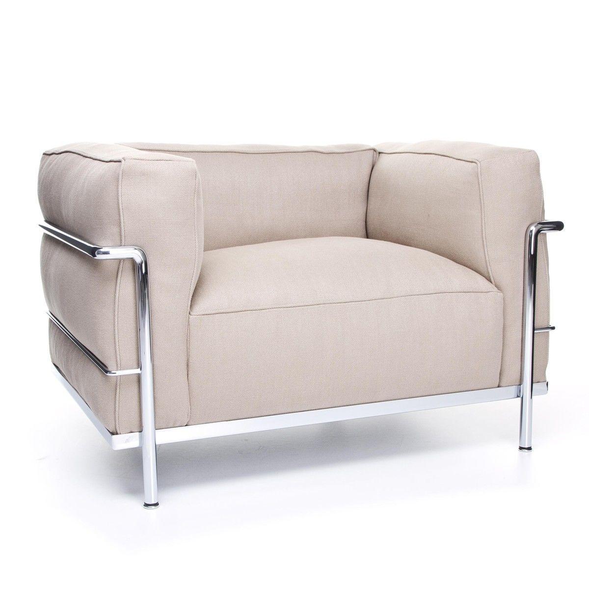 le corbusier lc3 armchair cassina cassina. Black Bedroom Furniture Sets. Home Design Ideas