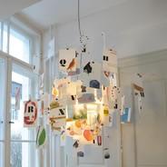 Ingo Maurer - Zettel'z Munari Suspension Lamp