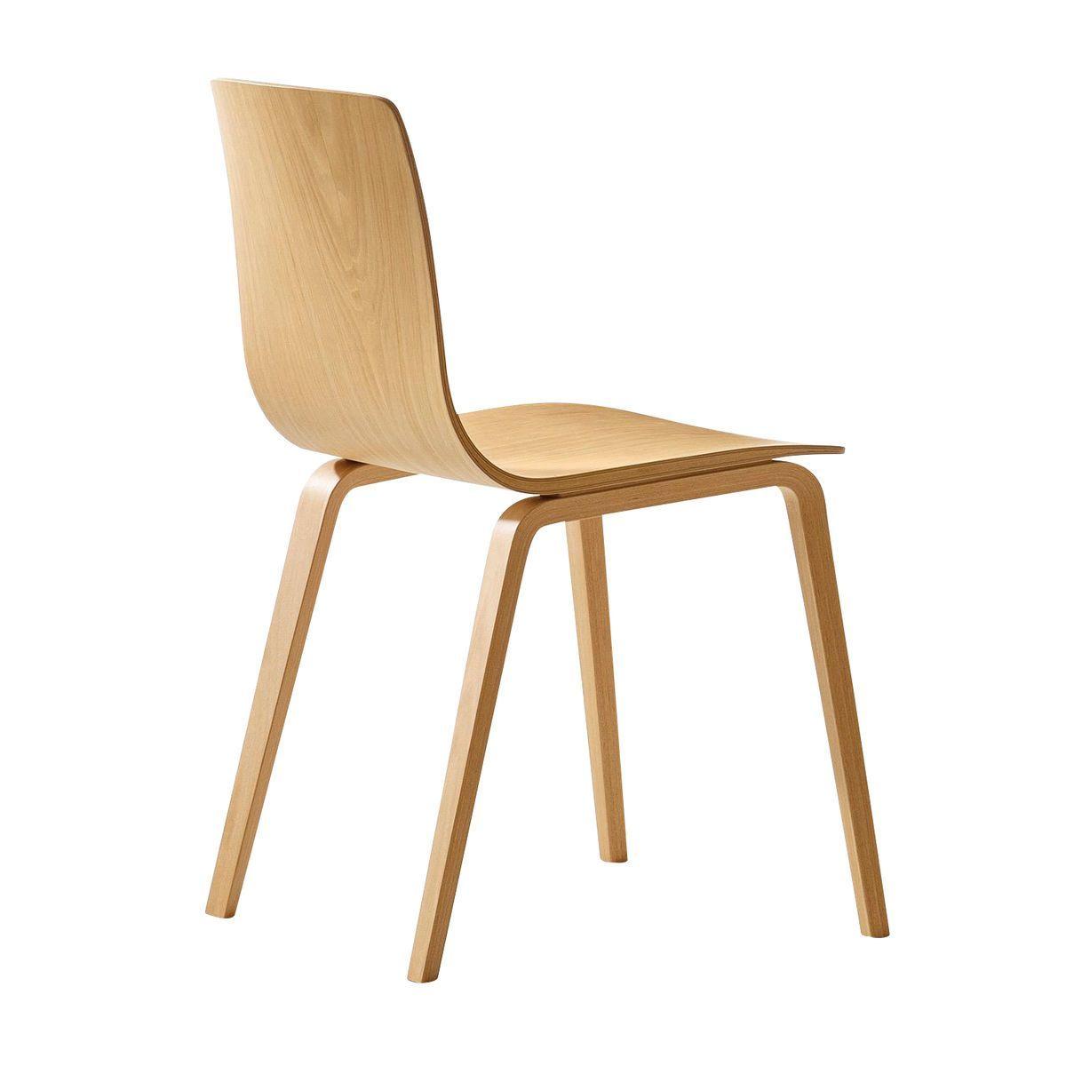 Arper   Aava Chair   Brich Natural