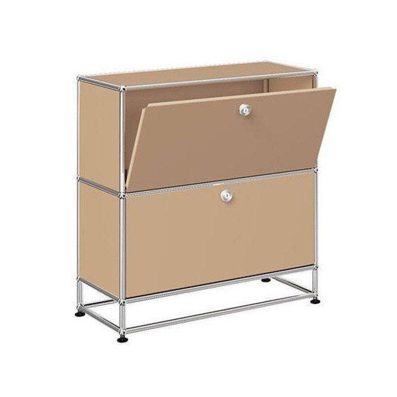 usm sideboard mit 2 klappt ren h 84cm usm haller. Black Bedroom Furniture Sets. Home Design Ideas