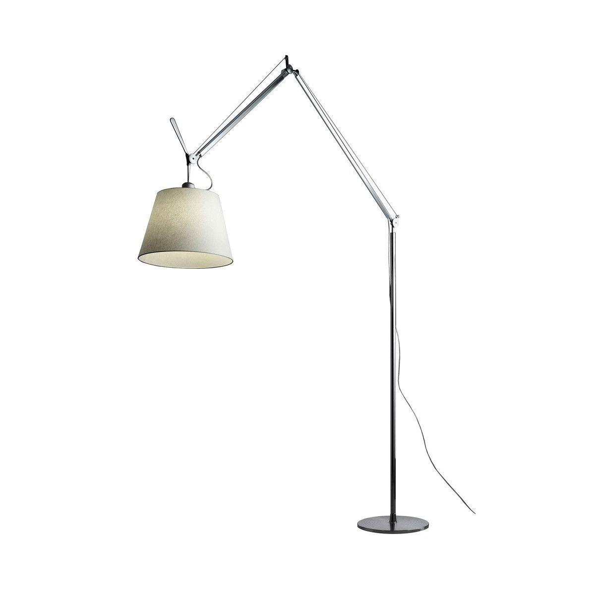 Tolomeo Mega Terra Dimmer Floor Lamp | Artemide | AmbienteDirect.com