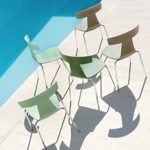 Plank - Remo Plastic Chair Stuhl Gestell verzinkt